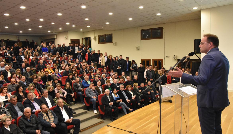 Ομιλία Στέλιου Βαλιάνου – Ένα νέο αναπτυξιακό μοντέλο για τον Δήμο Αριστοτέλη