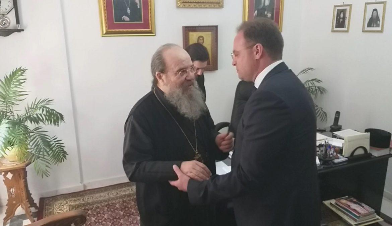 Στέλιος Βαλιάνος και Σεβασμιωτάτος Μητροπολίτης κ.κ. Θεόκλητος προτάσσουν ενότητα του λαού και έναρξη συνεργασίας Ι.Μητροπόλεως-Δήμου