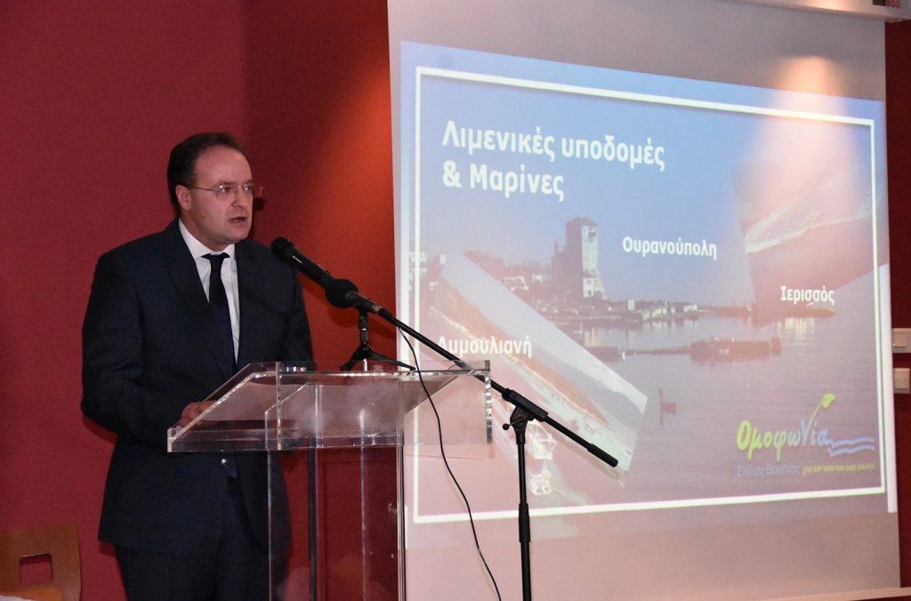 Στέλιος Βαλιάνος: «Αυτό είναι το τουριστικό μέλλον του Δήμου Αριστοτέλη» (VIDEO)