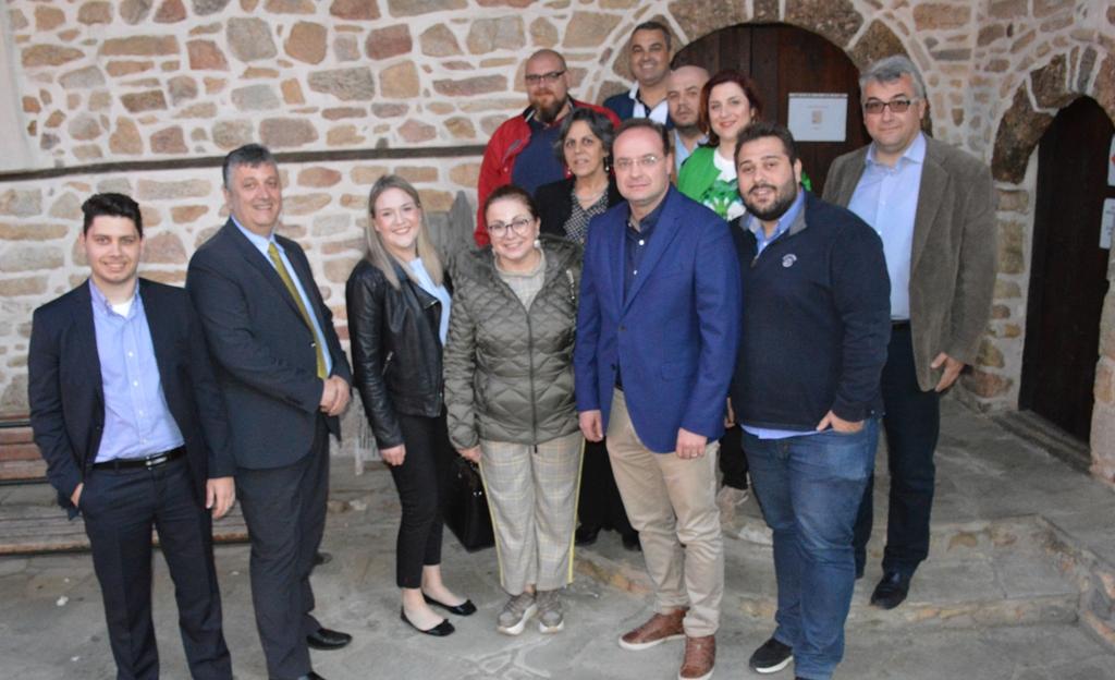 Στέλιος Βαλιάνος και Μαρία Σπυράκη για την ευρωπαϊκή διασύνδεση του Δήμου Αριστοτέλη