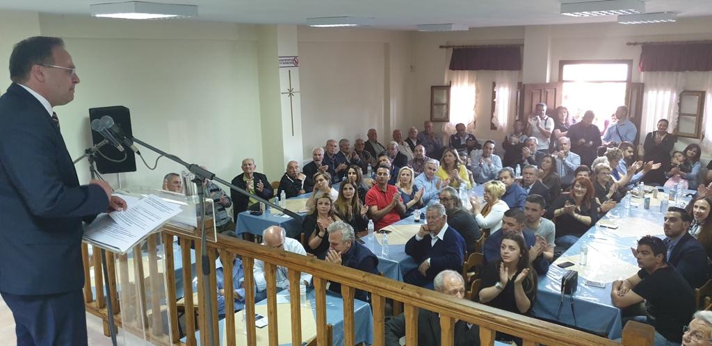 Στέλιος Βαλιάνος σε Στάγειρα και Στρατώνι: «Καμία χαμένη ψήφος!»