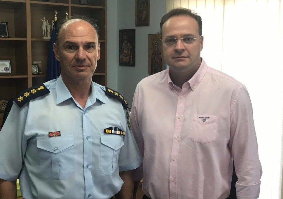 Στέλιος Βαλιάνος: «Επιτάχυνση στις διαδικασίες για Αστυνομικό Τμήμα στην Ιερισσό»